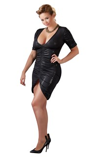 Plussize Dress with Ruffles