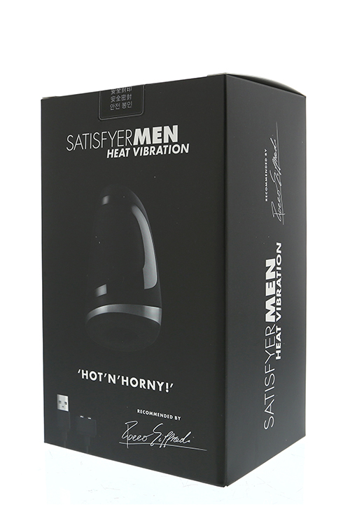 SATISFYER MEN HEAT VIBRATION
