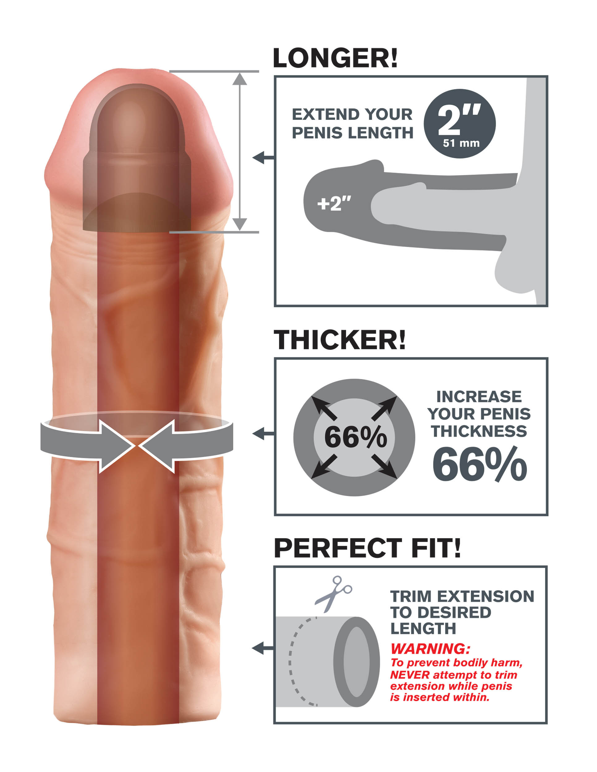 Erittäin paksu Dicks