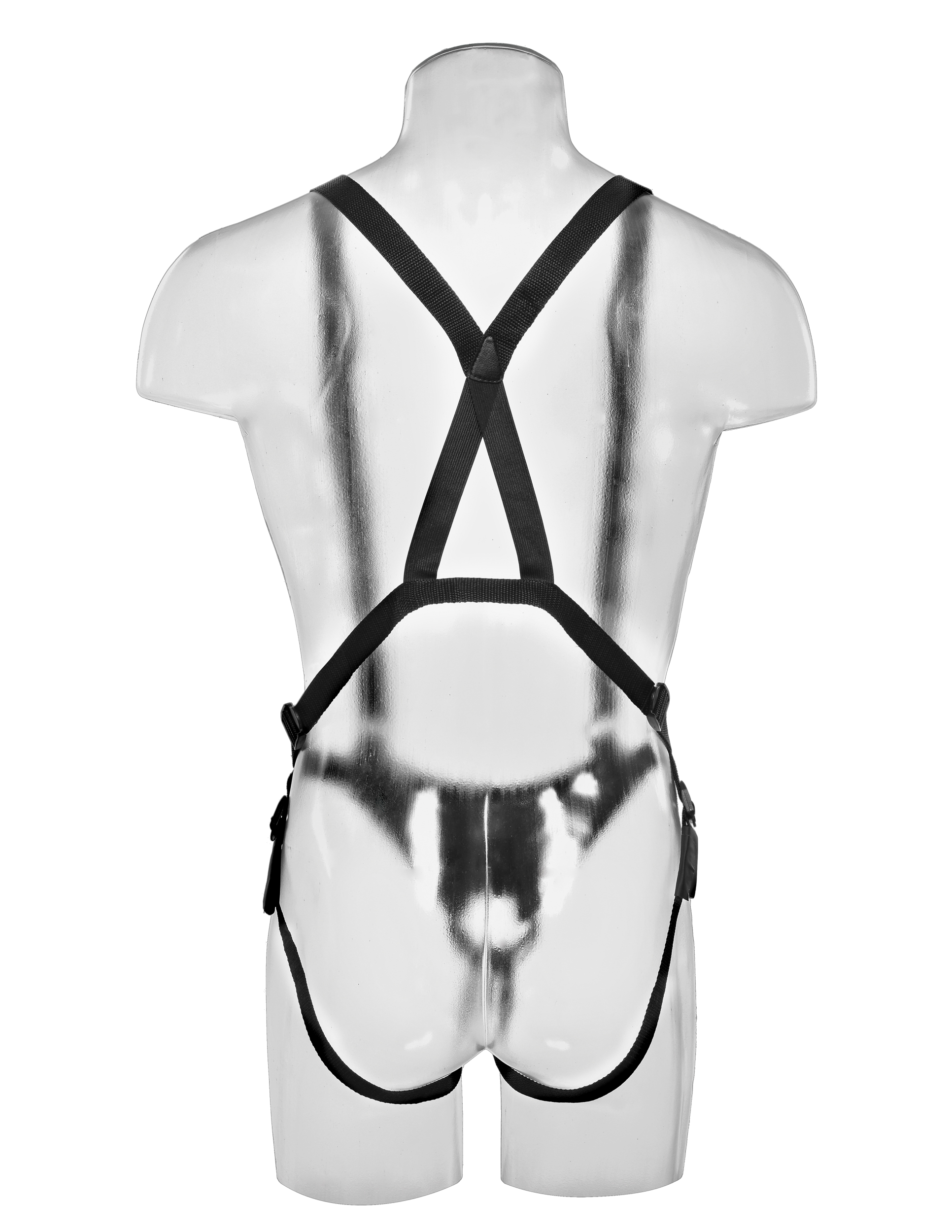 Hollow Strap-On Suspender System 27 cm - Tan
