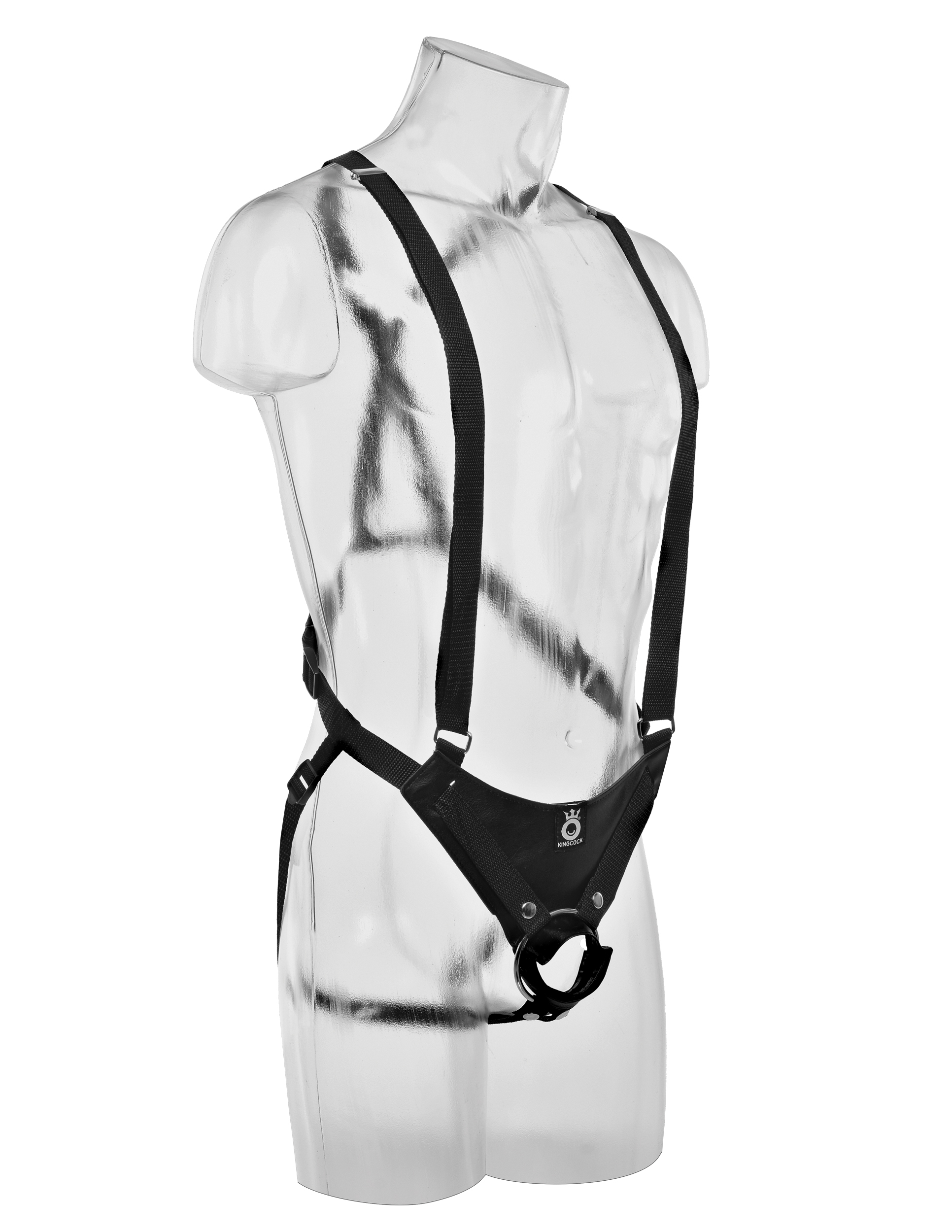 "11"" Hollow Strap-On Suspender System - Brown"